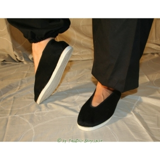 Traditioneller Tai Chi Meisterschuh mit Textilsohle
